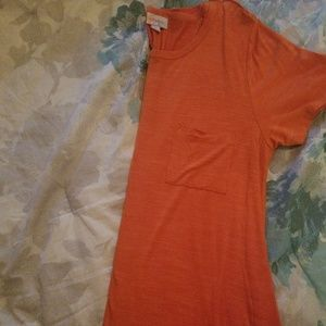 Solid Orange Lularoe Carly